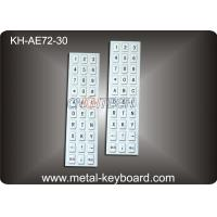 Metal Panel Mounted Industrial custom mechanical keyboards for Mine Info - Kiosk
