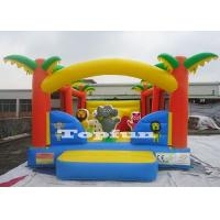 Buy cheap 16feet Inflatable Jumping Castle Animal Bouncer With Obstacles For Biff N Bash from wholesalers