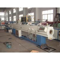 Buy cheap Full Automatic PVC Plastic Pipe Extrusion Line With Simens Motor from wholesalers