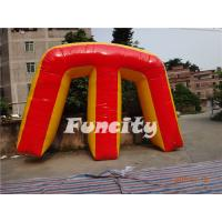 Buy cheap Colored Inflatable Sport Games Paintball Bunker Giant M 0.9mm PVC Tarpaulin from wholesalers