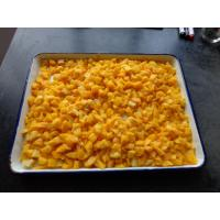 Buy cheap Irregular Canned Diced Peaches / Canned Peach Dices In Syrup For Pies from wholesalers