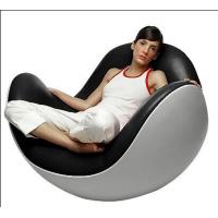 Buy cheap Designer Fiberglass Shell Leather Lounge Leisure Placentero Ball Chair from wholesalers