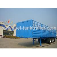 Buy cheap 4 Axle Sea Container Trailer , 20ft Container Transport Trailer  Diversified Fence Abrasive Blasting from wholesalers