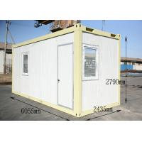 Buy cheap Insulated Dormitory Conex Box Homes , Modular shipping container homes from wholesalers