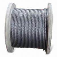 Buy cheap Stainless Steel Wire Ropes, DIN and BS Marks, Available from 2 to 4.5mm Sizes from wholesalers