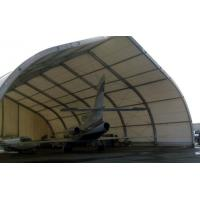 Buy cheap Curve Airplane Tent , Aluminum Structure Tent With Automatic Or Manual Lifting Door from wholesalers