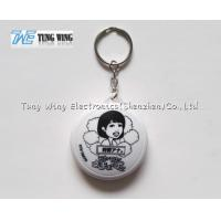 Buy cheap ABS Music Keyring Music Keychain With Customized Logo , Customized Sound from wholesalers
