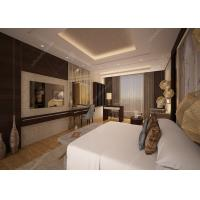 China Customized Luxury Hotel Bedroom Furniture / 5 Star Hotel Bed ISO9001 ISO14001 on sale