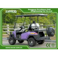 Buy cheap Excar 4 Wheel Drive Electric Hunting Carts 48V Trojan Battery 275A Curtid Controller from wholesalers