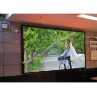 Buy cheap Ultrathin 1/26 S RGB HD LED display screen P1.935 480x480mm die casting cabinet from wholesalers