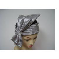 Buy cheap Sunday Ladies' Church Hats With Big Bow rhinstone For Party , Women Church Hat from Wholesalers