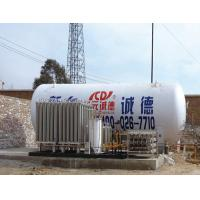Buy cheap 5 CBM Vaccum Powder Insulation LNG Cryogenic Liquid Storage Tank from wholesalers