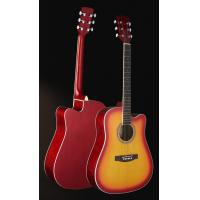 Buy cheap 41inch Good quality acoustic guitar matt color wholesale AG51C from wholesalers