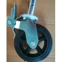 Buy cheap Small Large Scaffolding Caster Wheel / 5 Heavy Duty Locking Casters from wholesalers