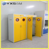 Buy cheap Chemical laboratory gas cylinder storage cabinet from wholesalers