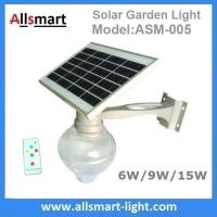 Buy cheap 6W/9W/15W Solar Parking Lot LED Light Solar Garden Wall Light LED Street Light With Solar Panel Mount On Lamp Pole Post from wholesalers