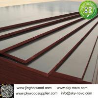 Buy cheap Brown film face plywood 18mm shuttering boards/formwork from wholesalers