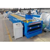 Buy cheap Trapezoid Roof Panel Roll Forming Machine For Commercial Metal Buildings from wholesalers
