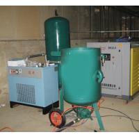 Buy cheap Fixed High Pressure Sand Blasting Machine , Metal Surface Blast Cleaning Equipment from wholesalers