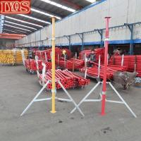Buy cheap Formwork Slab Casting Heavy Duty Shoring Steel Acrow Props from wholesalers
