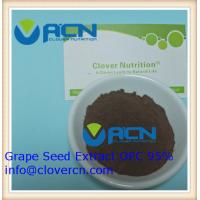 Buy cheap ACNS00199 Grape Seed Extract OPC 95% /Polyphenols 85%   A Clover Nutrition Inc   whole grape extract from wholesalers