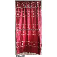 Buy cheap fashion valance hot sell organza embroidery curtain, organza curtain product