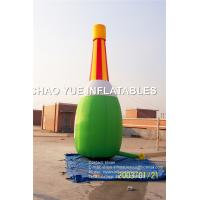 Buy cheap Digital Printing Inflatable Bottle Model For Promotion 2 - 3 Years Warranty from wholesalers
