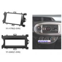 Buy cheap Radio Fascia for TOYOTA Yaris Facia Faceplate Installa Fit Trim from wholesalers