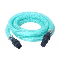 Buy cheap Flexible PVC Spiral Suction Hose Assembly / Vacuum Pump Pipe With Fittings from wholesalers