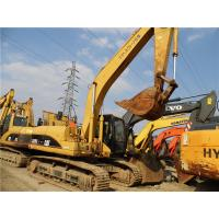 Buy cheap 3278 Hours Used CAT Excavator , Crawle Caterpillar Hydraulic Excavator 320C from wholesalers