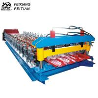 Buy cheap Galvanize Aluminium Iron Color Steel Roll Forming Machine 8-12/Min Working Speed from wholesalers