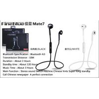 Buy cheap CSR 4.0 Wireless Music Stereo Bluetooth Headset / Earphones with microphone from wholesalers