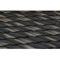 Buy cheap Polished Gray Double Roman Building heat insulation roof Tiles / roofing panel from wholesalers