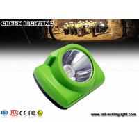 Buy cheap Waterproof LED Mining Light / Rechargeable Led Mining Headlamp 20 Hours Working Time from wholesalers