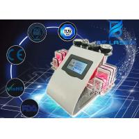 Buy cheap Portable Cavitation Lipolaser Bi Polar RF Beauty Machine For Cellulite Treatment 5 Handles from wholesalers
