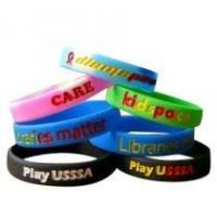 Buy cheap Silicone Bracelet from wholesalers