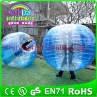 Buy cheap Inflatable Bumper Ball Knocker Soccer Balls Bubble Football suit from wholesalers