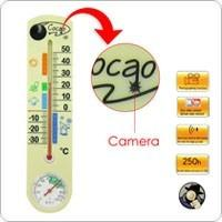 China Hidden Pinhole Camera Thermometer Security Video Recorder with 4GB Internal Memory on sale