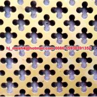 Buy cheap Hot Design Perforated Plate from wholesalers