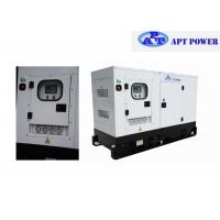 Buy cheap 4 Cylinders Engine Soundproof Diesel Generator Set 63kVA Prime Output @ 1500rpm from Wholesalers