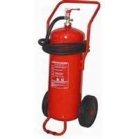 Buy cheap ABC Powder Trolley Fire Extinguisher 50Kg Easy Installation For Underground Parking Lot product