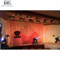 Buy cheap aluminum telescopic pipe black and white wedding decoration roud wedding tent aluminium frame tent pipe center pieces from wholesalers