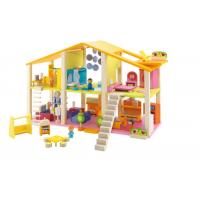 Buy cheap High quality diy wooden play doll house,solid wood dollhouse,wooden doll house furniture from wholesalers