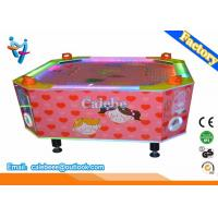Buy cheap 4 Players Kids Air Hockey Table Loving Heart Style With Led Light from wholesalers