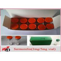 Buy cheap Growth Hormone Peptides Sermorelin 2mg/vial Lyophilized Powder for Bodybuilding from wholesalers