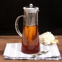 Buy cheap Hot sales glass cold brew coffee pot with ss lid from wholesalers