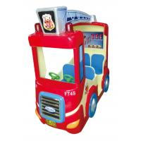 Buy cheap Popular Coin Operated Amusement Rides Fighting Truck Shape Four Players Capacity from wholesalers