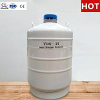 Buy cheap TianChi 35L Cryogenic Liquid Nitrogen Tank YDS-35-50 Aviation Aluminum Container Quotation from wholesalers