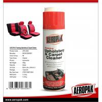 Buy cheap AEROPAK 500ML aerosol spray can Upholstery and Carpet Cleaner from wholesalers