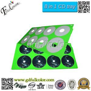 China Cheap Bulk CD Printing Custom 8 In 1 CD / DVD Print Tray For Printer Compatilbe Epson Deakjet Printer on sale